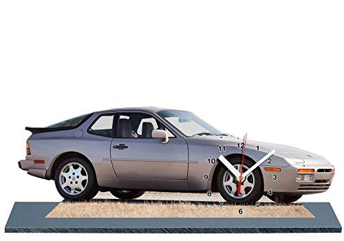 Preisvergleich Produktbild AUTO, PORSCHE 944, MINIATUR MODELL MOTORRAD in der Uhr 01