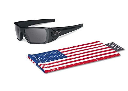 Oakley SI Fuel Cell Matte Black/Grey Tonal Flag Sonnenbrille Sunglasses