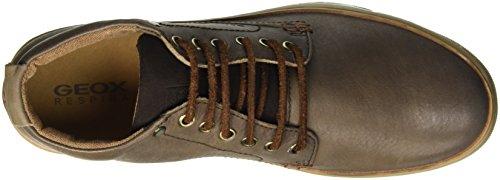 Geox Uomo Ricky E, Sneakers Hautes Homme Braun (COFFEEC6009)
