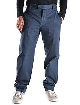 Mauro Grifoni Hombre MCBI205013O Azul Algodon Pantalón