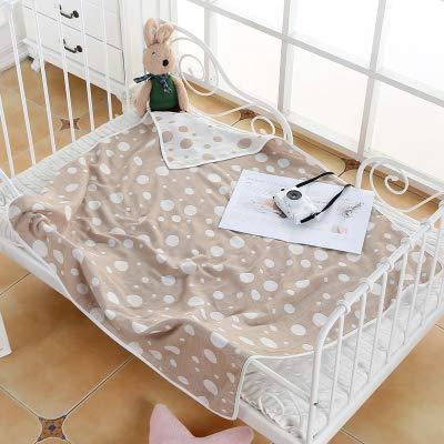 WFSM Baby Gaze Badetuch Neugeborenes Baby Wickeltasche Einzelblatt Einzelne Sommer Dünne Warenkorb Decke Decke Tuch 1 - Wickeltasche Große Personalisierte