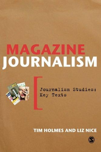 Magazine Journalism Cover Image