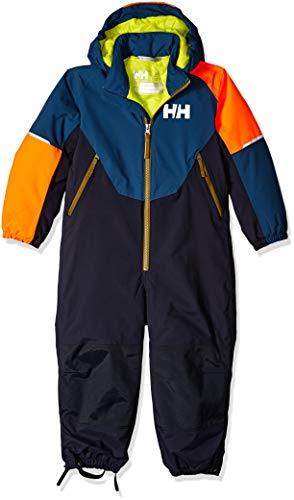 Helly Hansen K Rider Combinaison de Ski Mixte Enfant, Dark Teal, FR Fabricant : Taille Unique