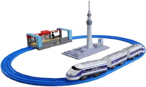 Plarail - Let`s go by Tobu Spacia !: Tokyo Sky Tree Set (Model Train) | Finement Traité