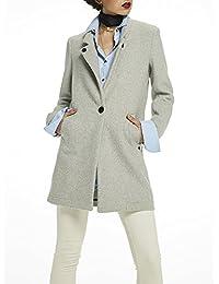 Scotch & Soda Damen Mantel Bonded Wool Coat