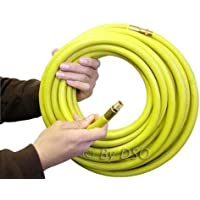 50ft 3/8inch Internal Diameter Heavy Duty Air Hose Airline High Visibility AT070