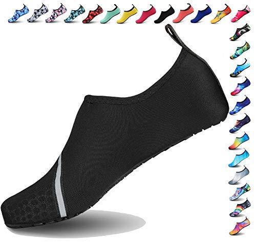 BOLOG Junge Aqua Schuhe Kinder Badeschuhe Schwimmschuhe Barefoot Schuhe Wasserschuhe Surfschuhe Sportschuhe Strandschuhe Schnorcheln Barfuß Schuhe für Mädchen Damen Sommer -