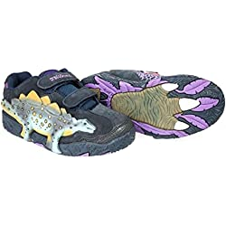 Dinosoles X10Stegosaurus calzado infantil, UK 13jr / EU 32