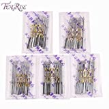 FENGRISE 100pcs x Packing Sewing Machine Needles Stainless Steel Household Apparel Sewing Tools Accessories Supplies HAX1