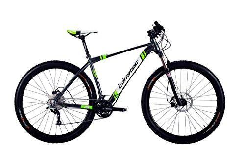 Preisvergleich Produktbild Corratec X-Vert 29er 0.2 iri grey matt/white/lime green Rahmengröße 39 cm 2016 MTB Hardtail