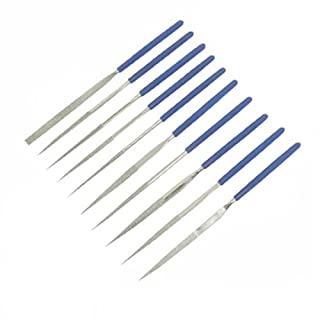 Silverline 633509 Diamond Needle File Set 140 mm - 10 Pieces