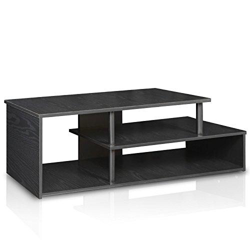 Furinno Laptoptisch 15044bw/BK ECON Low Rise TV-Ständer, Blackwood - Kinder-tv-tisch