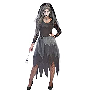 Amscan Womens Halloween Corpse Bride Costume Ladies Fancy Dress