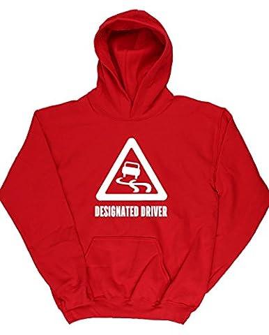 HippoWarehouse Designated Driver kids children's unisex Hoodie hooded top