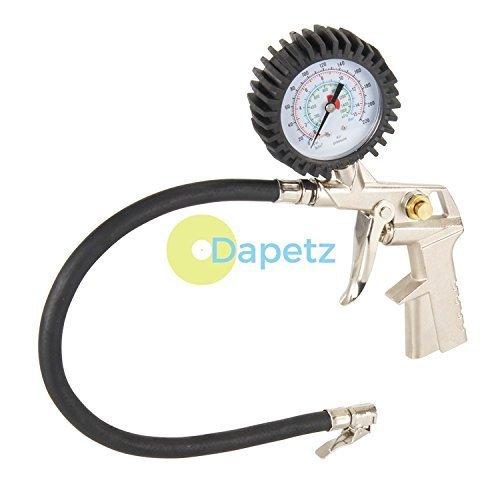 Daptez tubo alta pressione gomma gonfiatore & calibro bsp 1/4