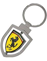 Ferrari Llavero Metalico Giratorio