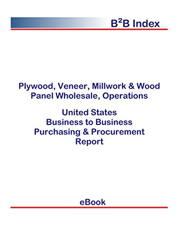 Plywood, Veneer, Millwork & Wood Panel Wholesale, Operations B2B United States: B2B Purchasing + Procurement Values in the United States (English Edition) - Operation Panel