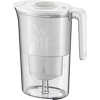 WMF Filterkaraffe 2,6 l weiß Akva Hartes Wasser Kunststoff spülmaschinengeeignet