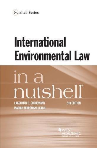 International Environmental Law in a Nutshell (Nutshell Series)