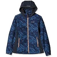 ICEPEAK Regan niña Softshell Chaqueta, otoño/Invierno, niña, Color Azul, tamaño 164