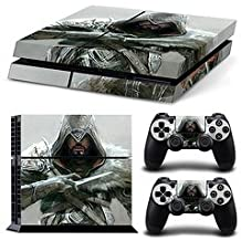Ridhaan Collection Assassin Creed Design Skin Sticker For PS4 Console And Controller