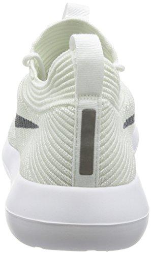 Nike Roshe Two Flyknit V2, Sneakers Basses Homme Blanc Cassé (White/wolf Grey/white/white)
