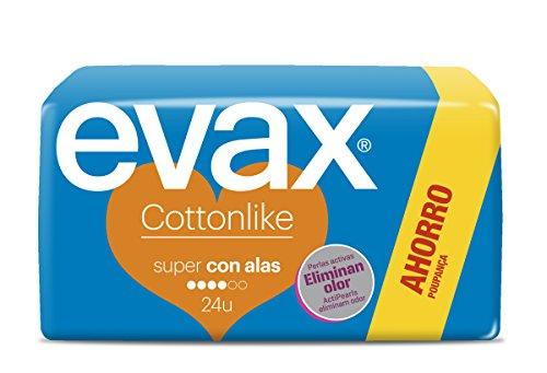 Evax Cottonlike Assorbenti Ali Super - 50 gr