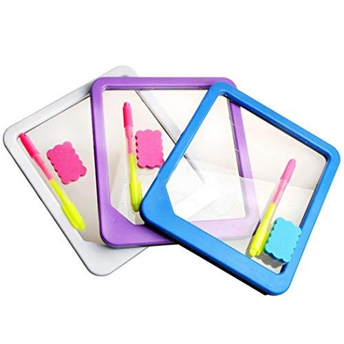 Dadiku LED Light Schreibtafel Zeichnung Tablet Nachricht Hinweis Spielzeug Geschenk Mehrzwecktafeln