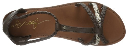 Reef - Reef Naomi Brown / Snake, Chaussures Femme Bracelet Marron (marron / Serpent)