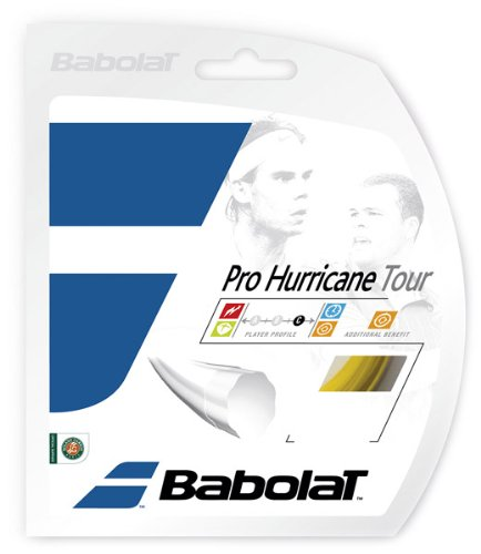 Babolat Tennissaite Pro Hurricane Tour gelb 1,20mm 12m