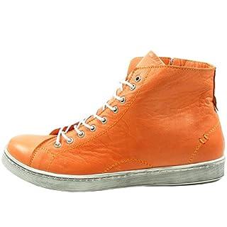 Andrea Conti 0341500 Womens Lace-UPS, Schuhgröße_1:39 EU;Farbe:Orange