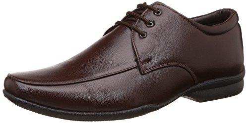 BATA Men's Remo Brown Formal Shoes - 8 UK/India (42 EU)(8214686)