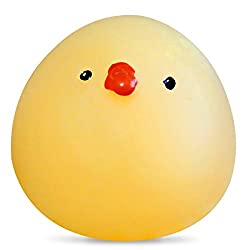 Zorbes Mini Cartoon Fat Chick TPR Animal Squishy Toy Funny Stress Reliever Decoration Gift