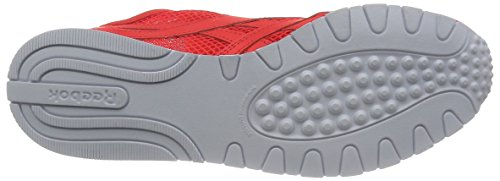 Reebok Classic Nylon Slim Mesh, Chaussures de Course Femme, Mehrfarbig Rot (Laser Red/Atomic Red/White)