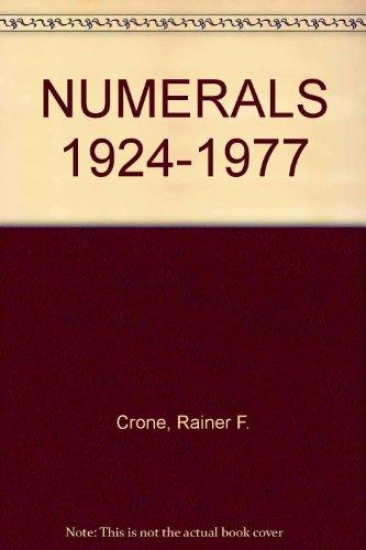 Numerals, 1924-1977