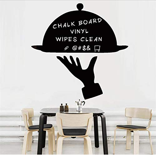 Menu Tray Cover Chalkboard Wall Art Decals For Kitchen Restaurant Dining Room Removable Wallpaper Vinyl Wall Sticker Home Decor -