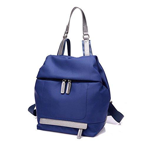 LINGE-Tempo libero borsa a tracolla ladies Oxford Bunni lungo capiente zaino borsa di tela , rose red Blue