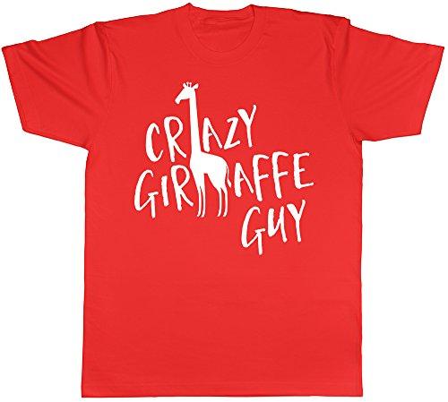 Shopagift Herren T-Shirt schwarz schwarz Rot