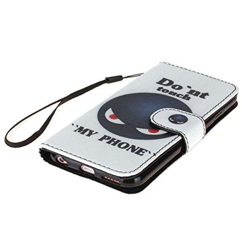 PU Cuir Coque Strass Case Etui Coque étui de portefeuille protection Coque Case Cas Cuir Swag Pour Apple iPhone 6 Plus (5.5 pouces) +Bouchons de poussière (8XU) 2