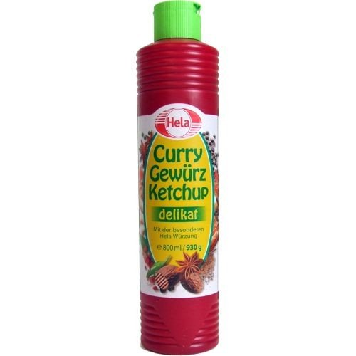 Hela - Curry-Gewürzketchup delikat - 800ml/ 930g