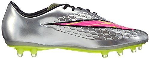 Nike - Hypervenom Phatal Premium Fg 'Liquid Diamond', Scarpe Da Calcio da uomo Grigio (Chrome/Hyper Pink-Mtlc Gld Cn)