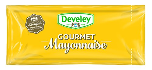 DEVELEY Mayonnaise 80{4240aa46e9d92456cd4f316d154af2ac3eb364c69d9096b9dc6c4f9affdc6140}, 150er Pack (150 x 20 ml) ...