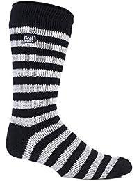 Authentique d'hiver thermique Heat Holders Chaussettes de Football 39–45 39 à 45 Eur Noir/blanc