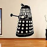 yaoxingfu Vinyl Art Design Home Decor Doctor Who Dalek Wall Sticker Camera da Letto Orna WW-1 42X60CM