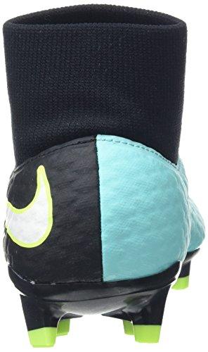 Nike Damen Hypervenom Phelon 3 Df Fg Fußballschuhe Mehrfarbig (Light Aqua/white/black/volt)