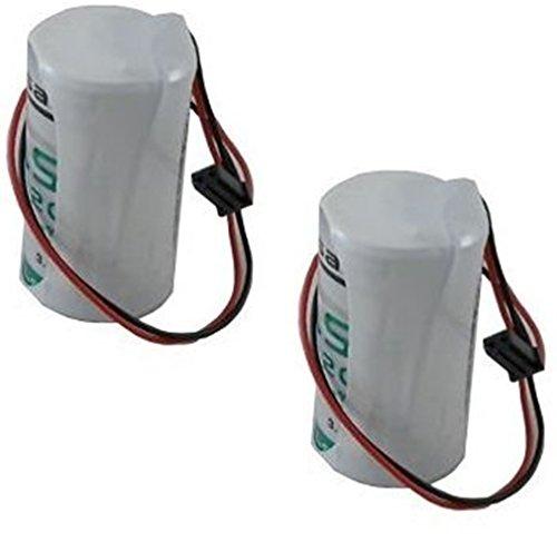 2 BATTERIE LITIO SAFT 3,6 V 13 AH LSH 20 ANTIFURTO ELKRON WL31 HP30WL BAT80009