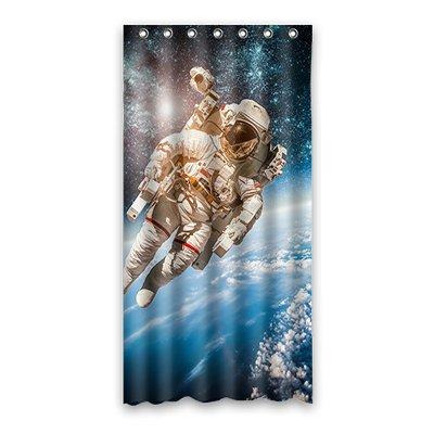 dalliy Astronaut Kostüm der Duschvorhang Shower Curtain 90cm x 183cm 36