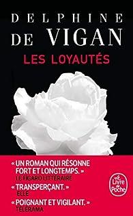 Les loyautés par Delphine de Vigan