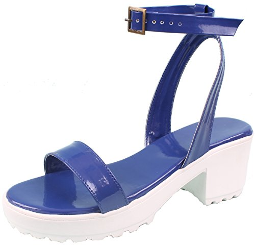 Blue Sandal | White | Blue | Women Sandal | Girl Sandal