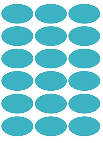 das-label Aufkleber | 18 Vintage Design No.9 türkis matt | | Valentinstag | Muttertag | Scrapbook | Geburtstag | Geschenke | zum bekleben von Autos | Tüten | Geschenkkartons | selbstklebende Markierungspunkte